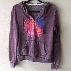 Roxy Purple Hoodie Sweatshirt